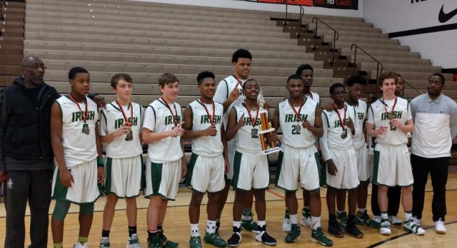 9th Grade Boys Basketball Wins Massillon Tournament Championship!