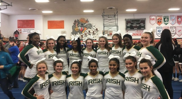 Competition Cheer Advances to OASSA State Competition