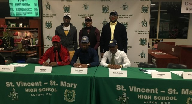Six STVM Football Players Commit on National Signing Day