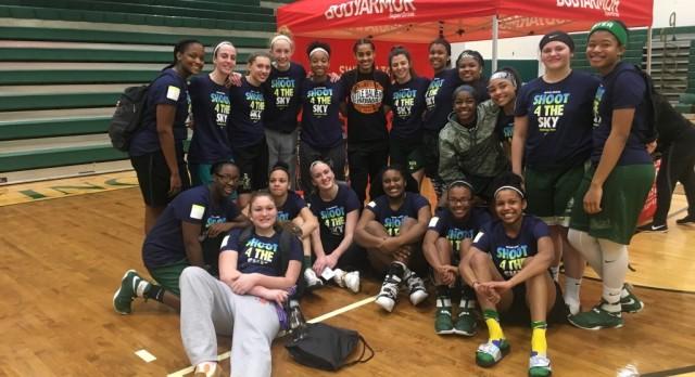 WNBA Star, Skylar Diggins Hosts Girls Basketball Camp @ STVM