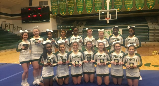 Competition Cheer Places 3rd at OASSA State