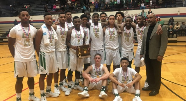 Boys Basketball Claims 27th District Title