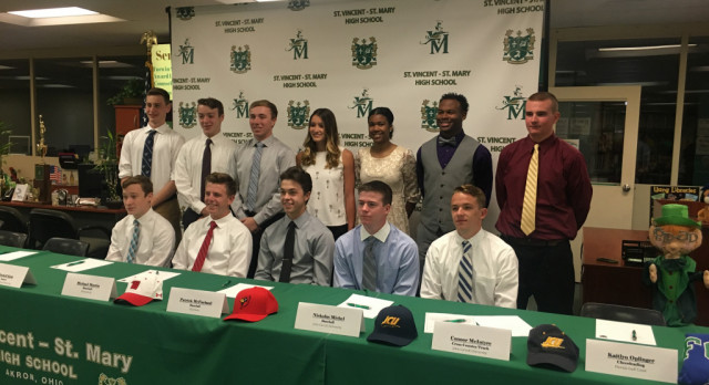 13 STVM Seniors Commit to Colleges