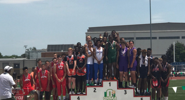 STVM Track: 4×200 Boys Relay are OHSAA State Champions!
