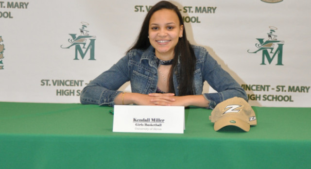 Kendall Miller Signs National Letter of Intent to University of Akron