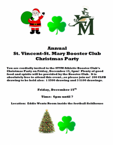 booster club xmas party