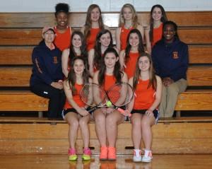 2015_Girls_NSCHS_Varsity_Tennis_Team