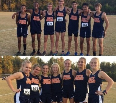 Spartan XC Teams Finish 4th in Region 6-AAAAA