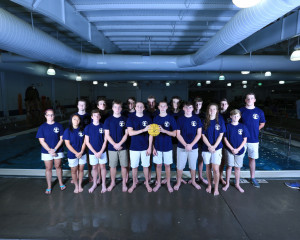 2016 Water Polo Team