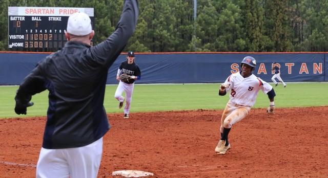 North Springs High School Varsity Baseball Sweeps Series over Lithia Springs High School 10-0