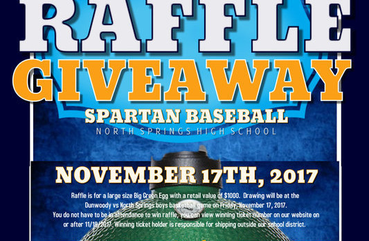Baseball Raffle Giveaway – Buy Your Tickets Now!!!