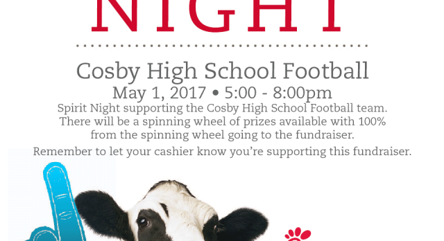Football Fundraiser – Chick-fil-A