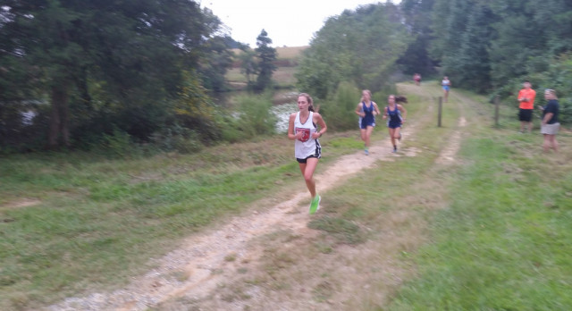 Lady Barracudas Seventh at County meet