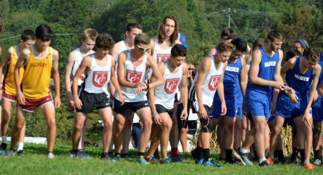 Barracuda Boys Compete at County Cross Country Meet