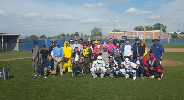 Happy Halloween from Ramona Baseball