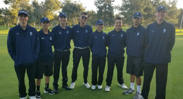 Rams Golf swings into first place in the River Valley League