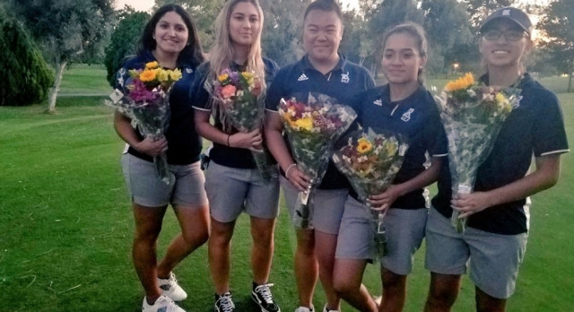 Girls Golf- League Champions Again