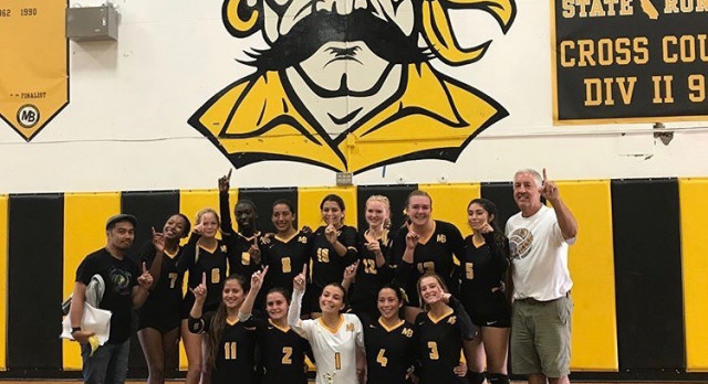 Bucs Girls Volleyball Team Sweeps Through Bucs Bash
