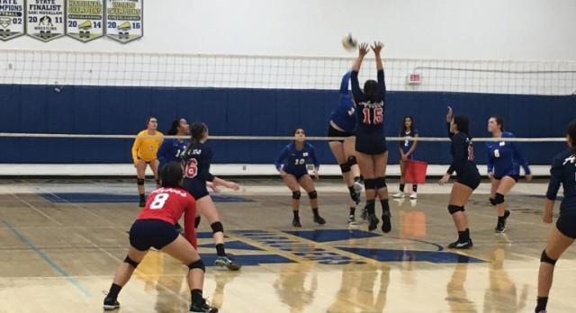 Volleyball Beats Montgomery 3-1