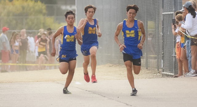 Cross Country results from the Wolfpack Invitational