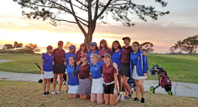 Girls Golf with Pt Loma at Torrey Pines