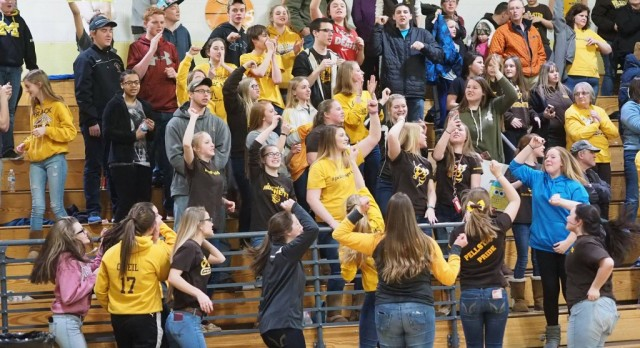 Pellston High School Boys Varsity Basketball beat Engadine High School 63-59