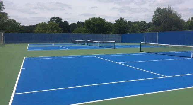 New Tennis Courts Complete!
