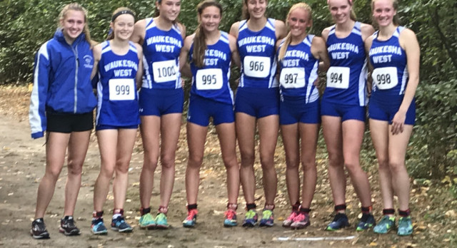 Cross Country Girls Run to Sectional Championship