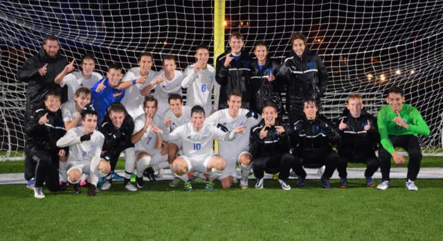 Boys Soccer Earns Classic 8 Title