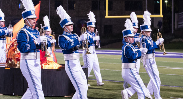 Marching Band Wins Class AAA State Championship