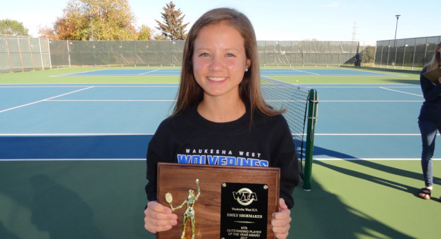 Shoemaker Outstanding Tennis Player of the Year