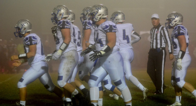 Football Claims Undefeated Conference Championship