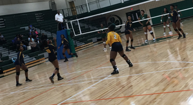 Keenan Girls Varsity Volleyball vs Eau Claire