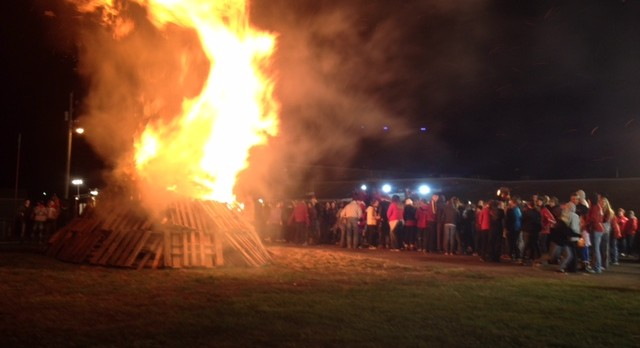 Community Bonfire Pep-Rally Thursday, October 27th @ 7pm