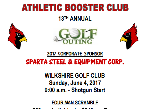 Athletic Booster Club Golf Outing