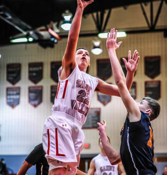 Chad Neisel breaks Sandy Valley Career Scoring Record