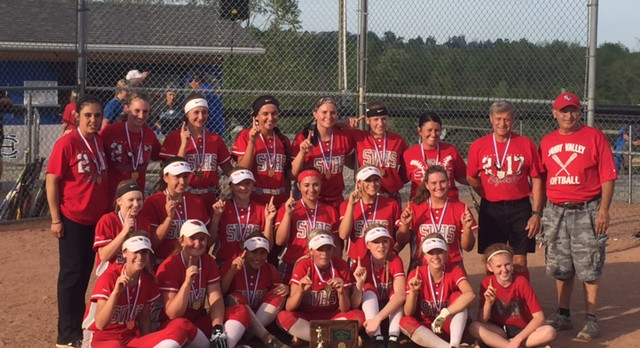 Lady Cards Softball District Champions!!!
