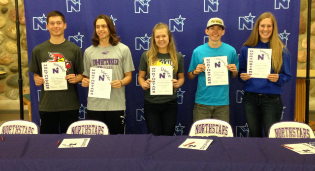 North Athletes Continuing on to College Sports