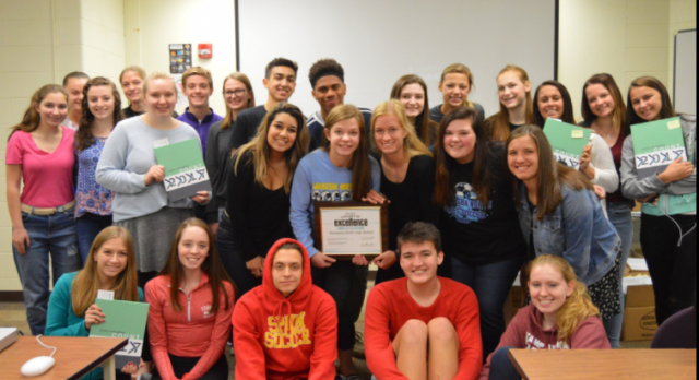 @YearbookWNHS earns @yearbookforever Gallery of Excellence Award