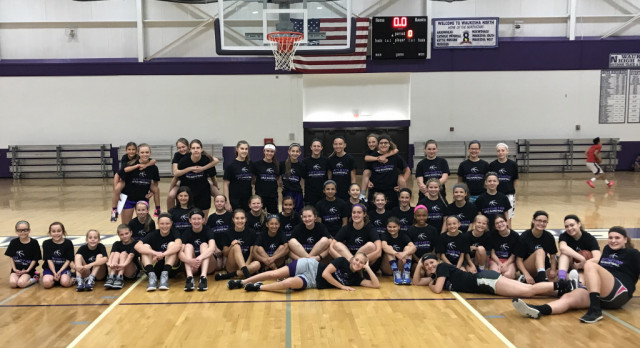@WNGbasketball Youth Camp Round 1 is a success for Girls Basketball!