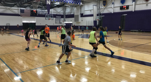 @WNGbasketball Develops Youth Skills at Camp