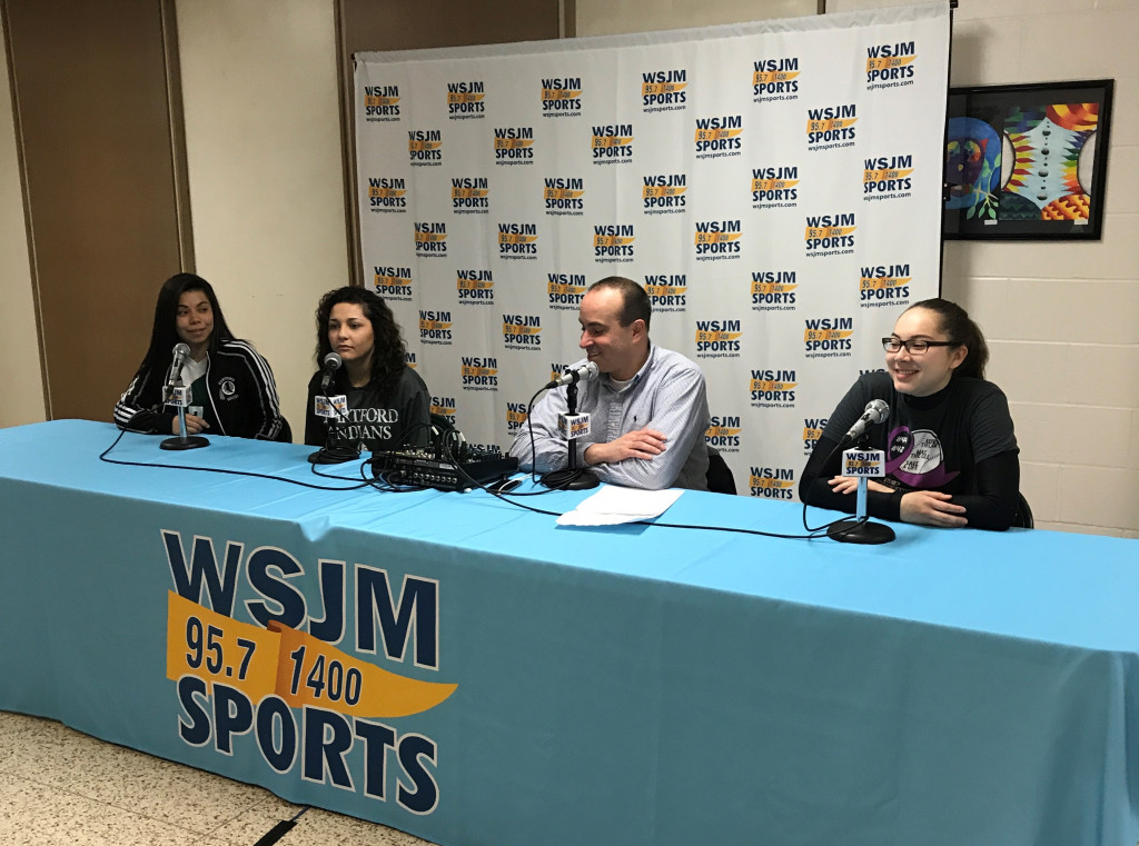 WSJM Sports Radio Visits Hartford High