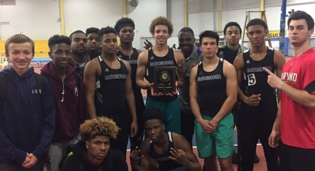 Indoor Track:  1A East CHAMPS!