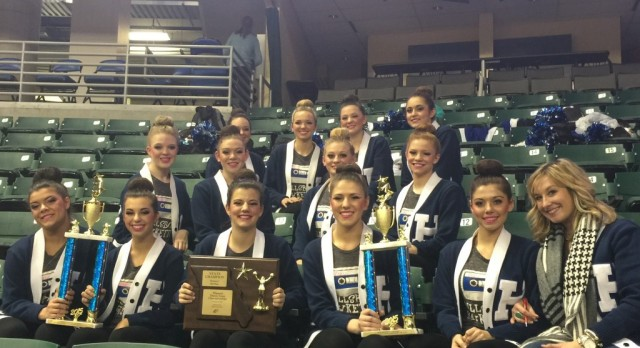 Hawkettes finish 2nd in Class 3