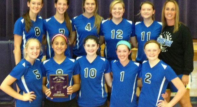 JV Volleyball wins Potosi Tournament
