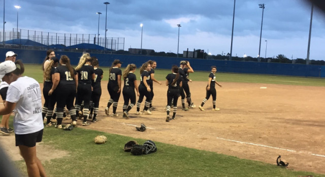 Pryor Throws Shutout As Softball Defeats Tuloso Midway in Game 1