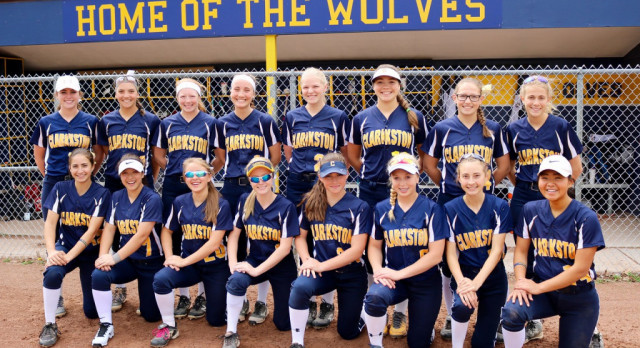 Varsity Softball – MHSSCA Academic All State Team.