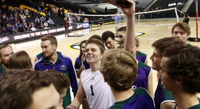 Rapids win back to back State Titles in Boys Volleyball
