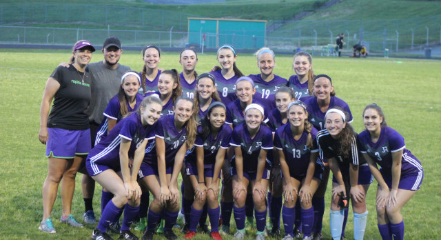 James River High School Girls Varsity Soccer falls to Floyd E. Kellam 3-1