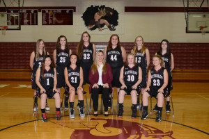 2016-2017 Girls JV Basketball